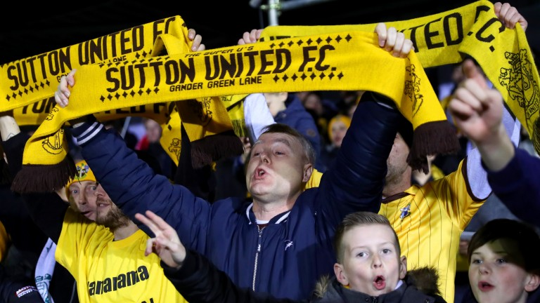 Sutton fans could have plenty to celebrate this evening
