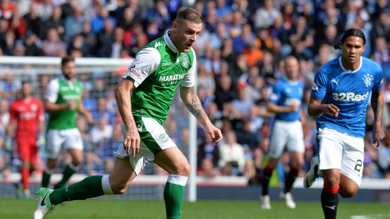 Hibs' leading goalscorer Anthony Stokes could pose problems for the Hearts defence