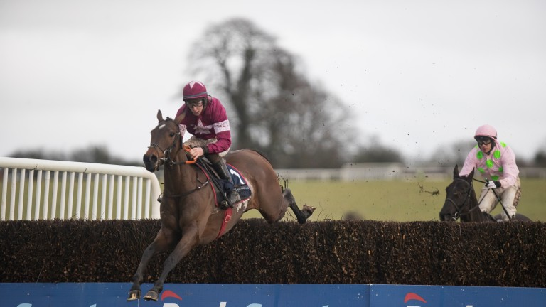 A Toi Phil and Jack Kennedy winning the Kinloch Brae Chase at Thurles in 2018
