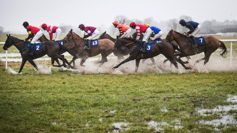 Runners endure near waterlogged conditions at Thurles
