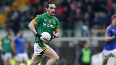 Meath: the trainer has rarely missed a championship game