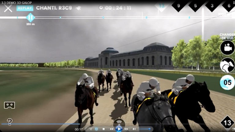 The Epiqe Tracking system allows users to watch 3D point-of-view representations of races live or as replays