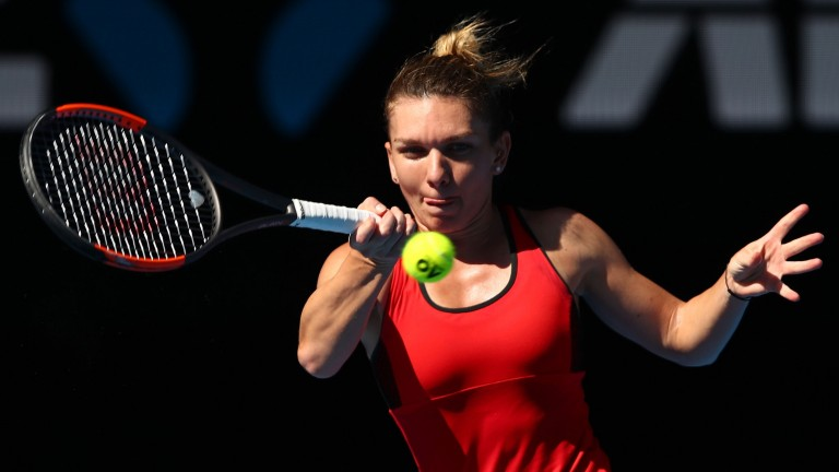 Simona Halep impressed in seeing off Karolina Pliskova in the last round