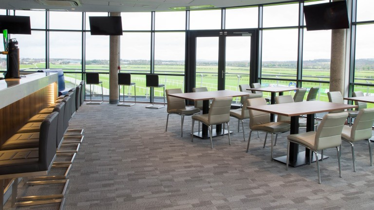 The impressive interior of the new development at Naas racecourse