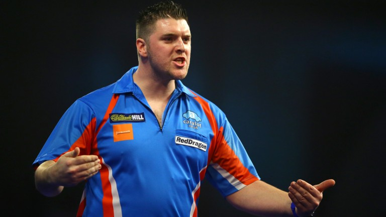 Daryl Gurney is averaging nearly five 180s per game