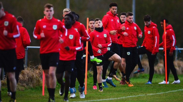 Yeovil prepare for the FA Cup clash with Man Utd