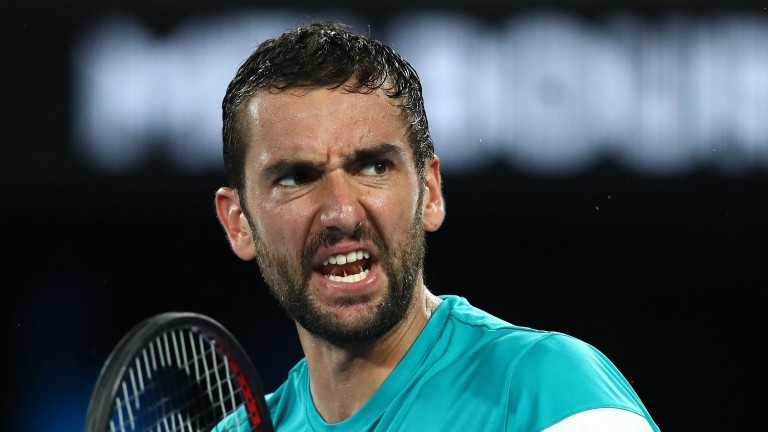 Marin Cilic was very business-like in dismantling Kyle Edmund in straight sets