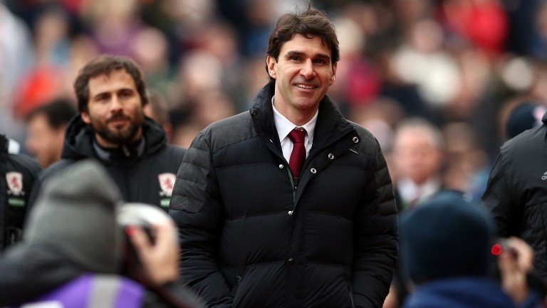 Aitor Karanka has had unwavering backing from Forest owner Evangelos Makrinakis