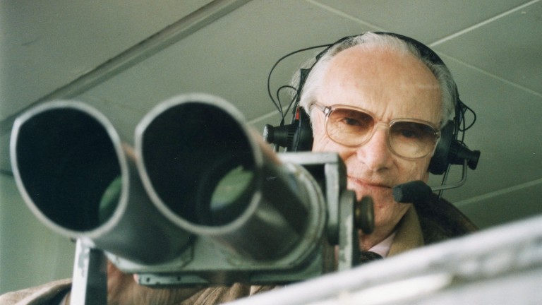 Sir Peter O'Sullevan: the legendary commentator worked tirelessly for charity after his retirement