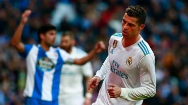 Real Madrid will hope Cristiano Ronaldo can lift spirits