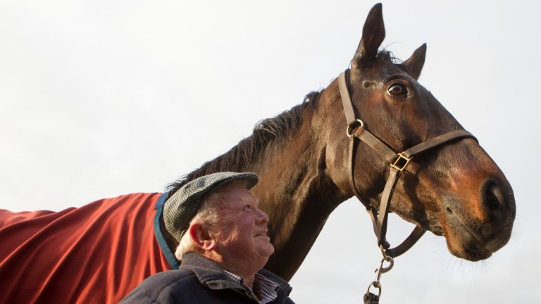 Peter Casey with his popular chaser Flemenstar