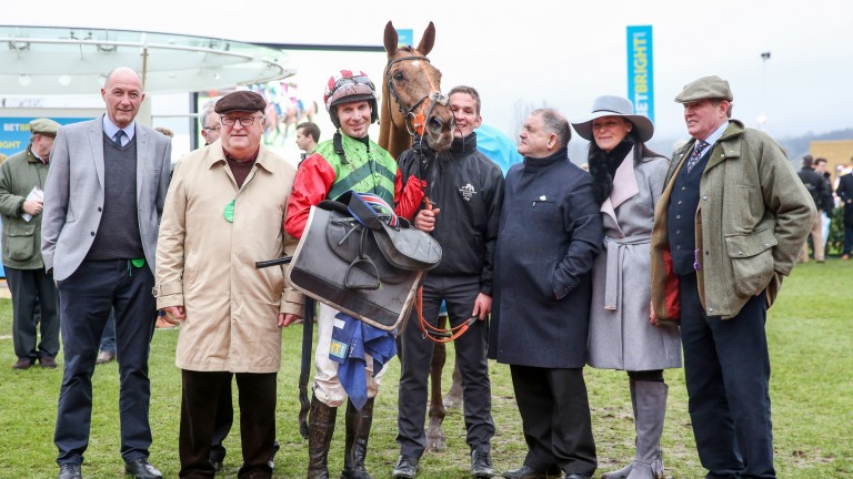 The Definitly Red team are dreaming of the Gold Cup after his Cotswold Chase success
