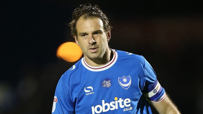 Portsmouth forward Brett Pitman