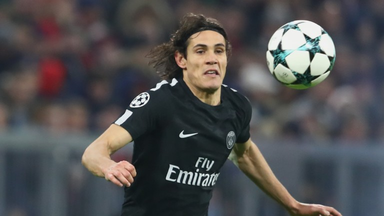 PSG striker Edinson Cavani will relish a crack at Rennes