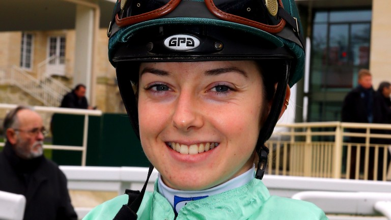 Mickaelle Michel currently leads the French Flat jockey's standings and rode a treble at Cagnes-sur-Mer on Monday