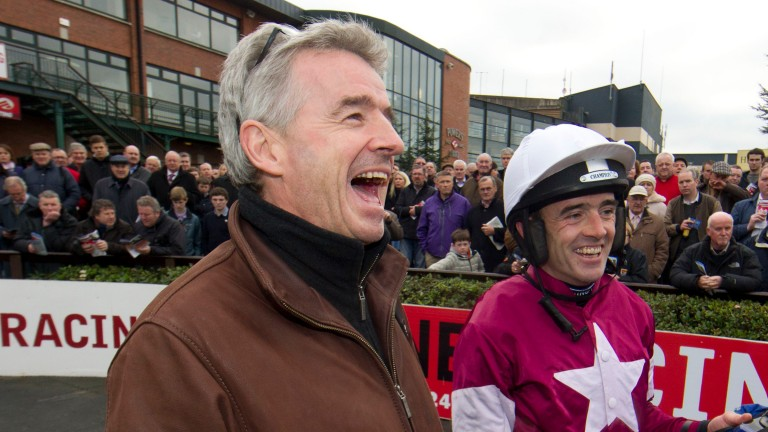 """O'Leary with Ruby Walsh: """"Who is up in the clinic in Santry I'd say four times a week doing rehab? Ruby. The other fellas are all feeling sorry for themselves"""""""