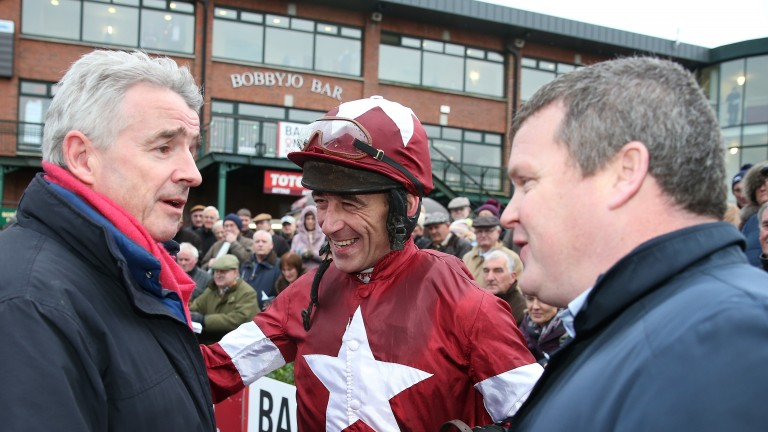 Davy Russell: managed to get the best out of Lieutenant Colonel at Cork