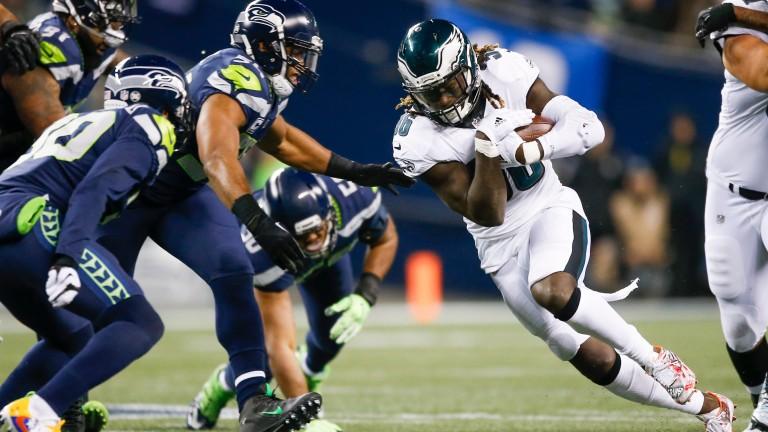 Philadelphia Eagles running back Jay Ajayi