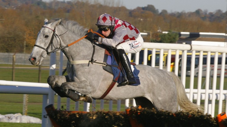 Wayne Hutchinson on board Smad Place during his hurdling days