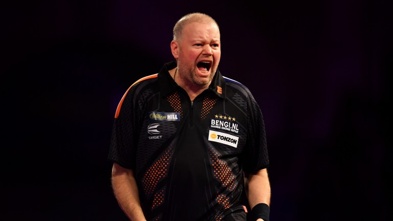 Raymond Van Barneveld was Premier League champion in 2014