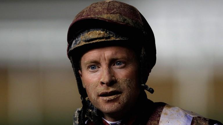 Tadhg O'Shea: the Flat jockey is 36