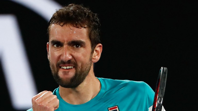 Marin Cilic looks like having a successful season after his Melbourne heroics