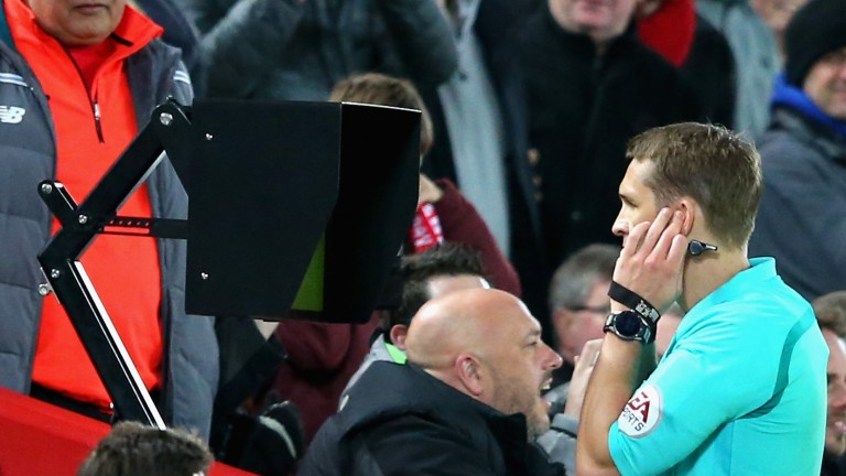 Waiting for referee Craig Pawson at Anfield was excruciating