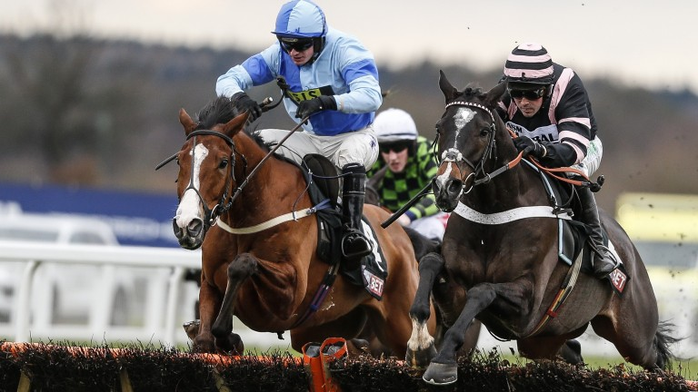 Claimantakinforgan (Nico de Boinville, right): Nicky Henderson's Supreme Novices' Hurdle fancy heads a three-pronged Seven Barrows raid on Musselburgh on Sunday