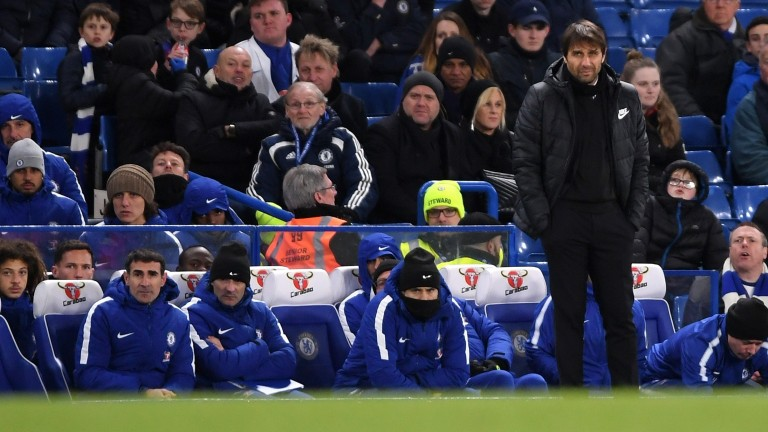Antonio Conte's Chelsea suffered a shock 3-0 home defeat to Bournemouth