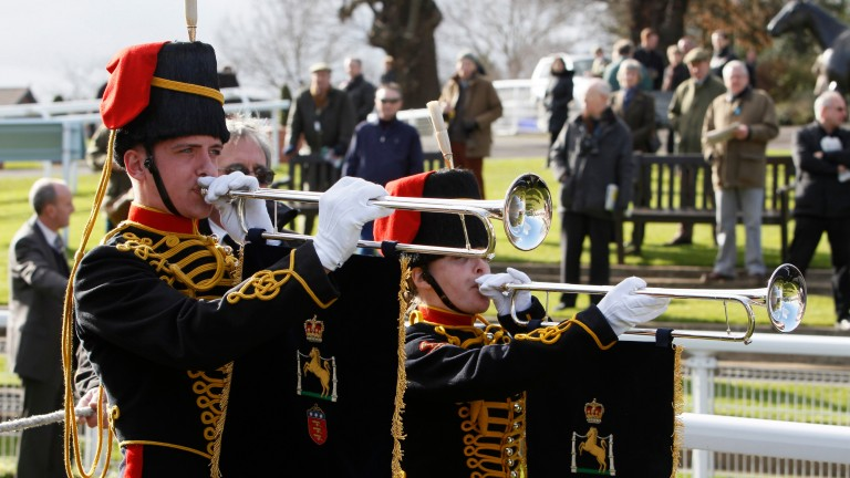 Sandown's Royal Artillery Gold Cup day is just one of the meetings supporting Tickets for Troops