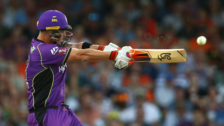Ben McDermott helped blast the Hurricanes into the Big Bash final