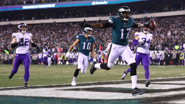 Philadelphia stunned home side Minnesota in the NFC Championship game