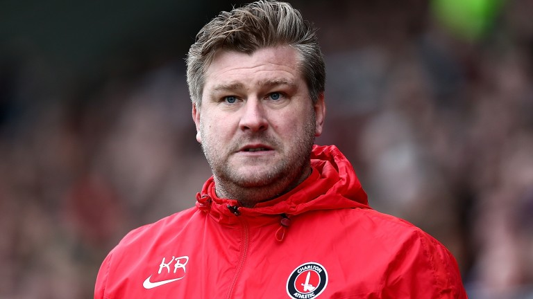 Oxford boss Karl Robinson (pictured when in charge at Charlton)