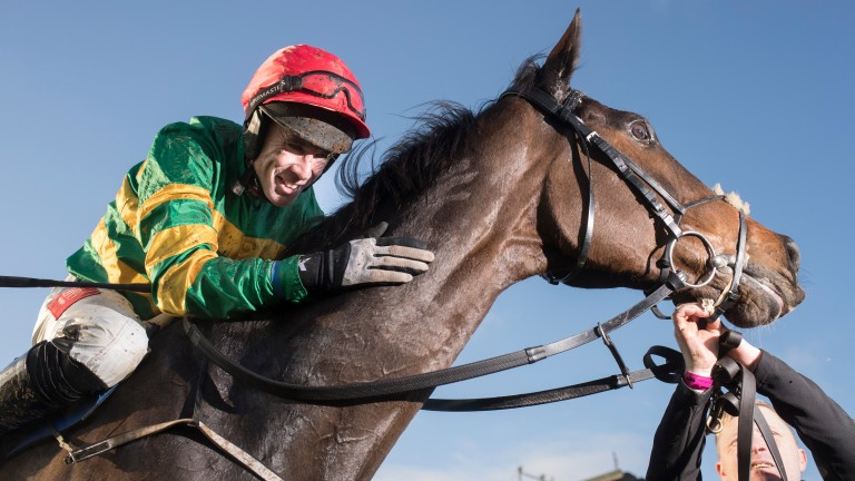 Edwulf: the miracle horse who is on course to return to Cheltenham in this year's Gold Cup will be ridden again by Derek O'Connor