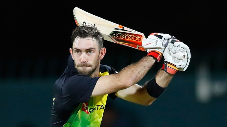 Glenn Maxwell's century steered Australia to victory over England in Hobart
