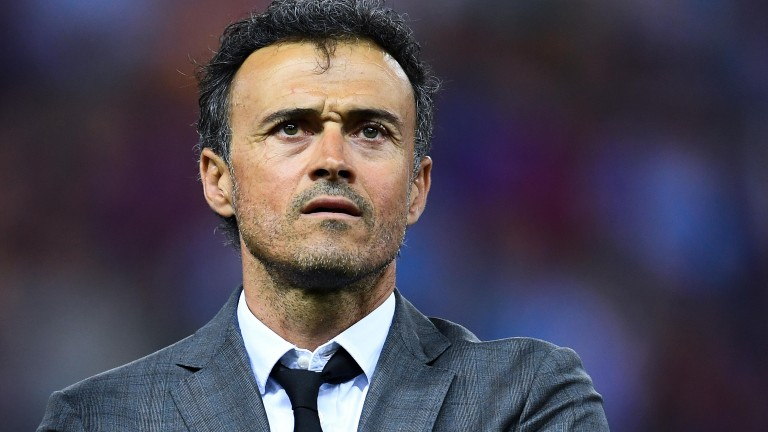 Luis Enrique is in the running for the Chelsea job
