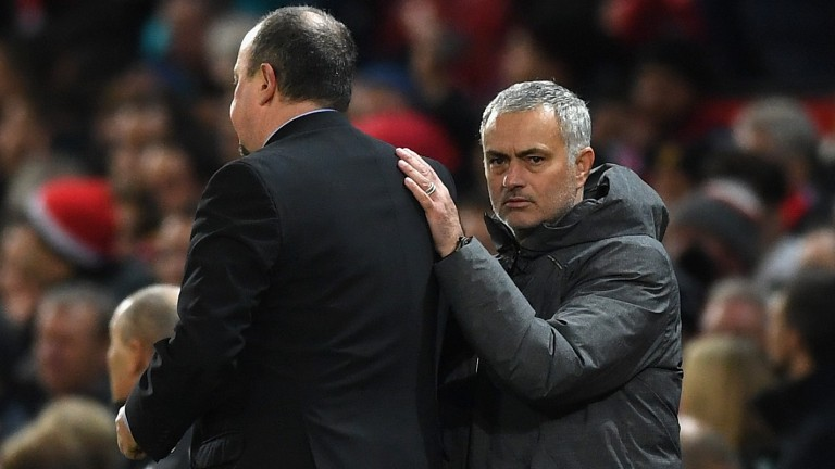 Jose Mourinho could be the happier of the two managers