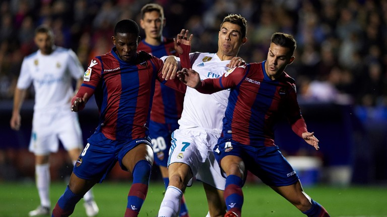Levante drew 2-2 with Real Madrid last weekend
