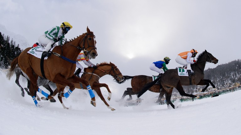 White Turf: second weekend of action is back on the lake at St Moritz