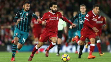 Mo Salah was too sharp for Southampton in Liverpool's 3-0 win at Anfield