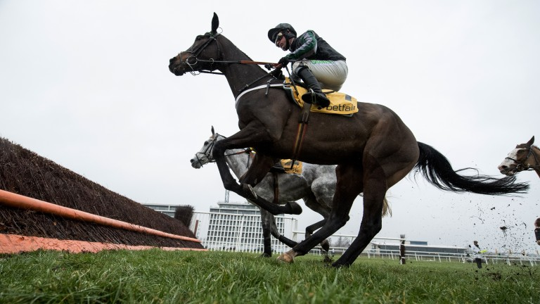 Altior won at Newbury on his first outing after wind surgery
