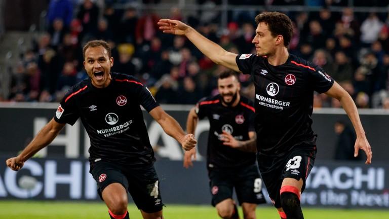 Nuremberg are eyeing up top spot in Bundesliga 2