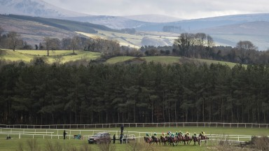 Patrick McCann's stunning picture perfectly captures the glorious backdrop at Punchestown