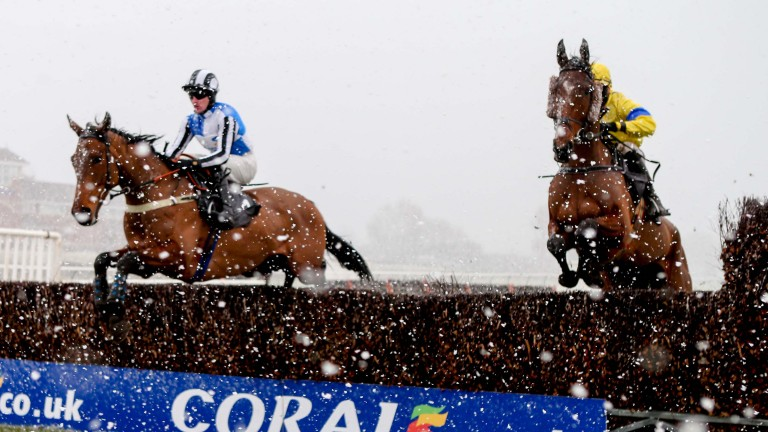 Ayr: has been no stranger to snowy conditions recently
