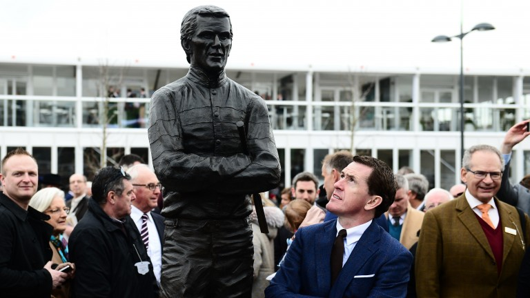 Who is tougher – Sir Tony McCoy or his statue?