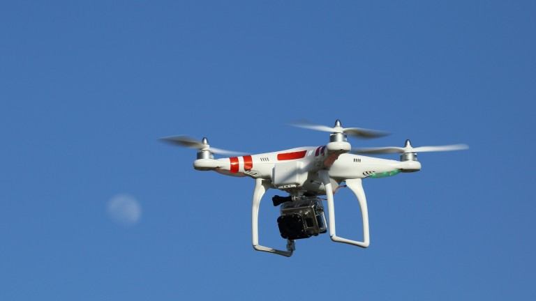 Drones: could easily be a threat to racing