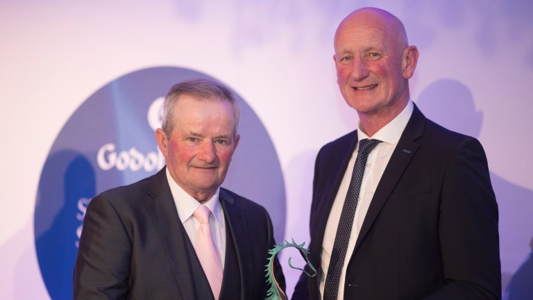 Tommy Woods: winner of the Dedication to Racing Award at the Godolphin Stud and Stable Staff Awards last year