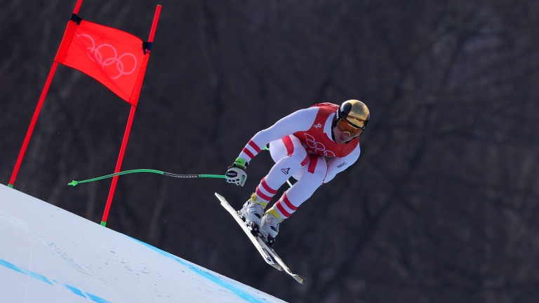Veteran Hannes Reichelt of Austria could make his mark in the Super G