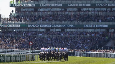 A packed Aintree for the Randox Health Grand National