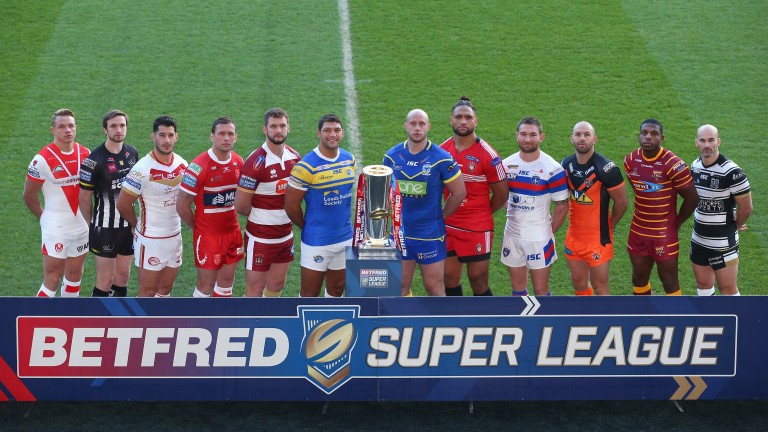 The 2018 Super League team captains